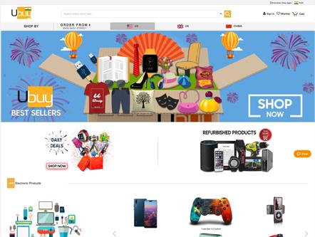 Ubuy - Custom eCommerce Web Development